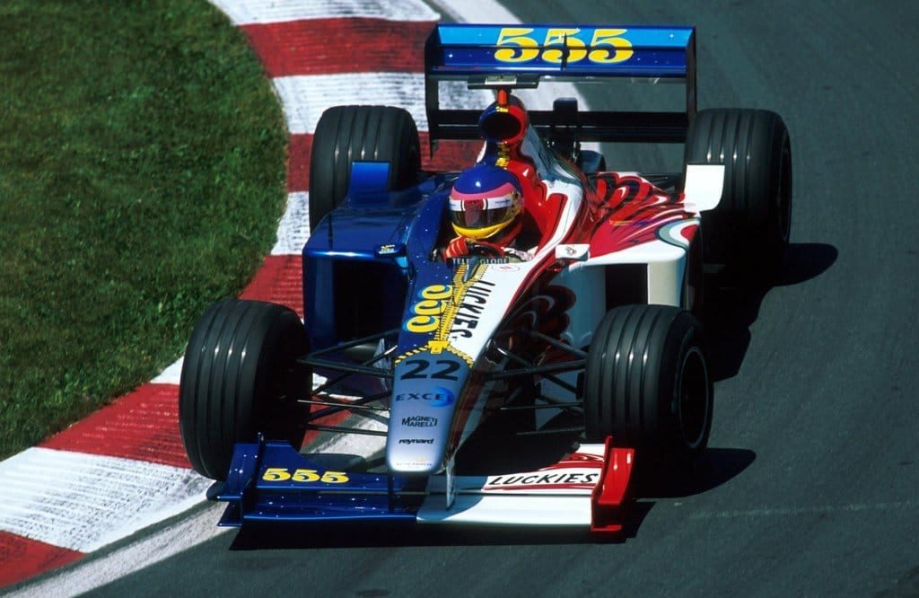 Classic F1 Bar In Trouble For Dual Livery Approach