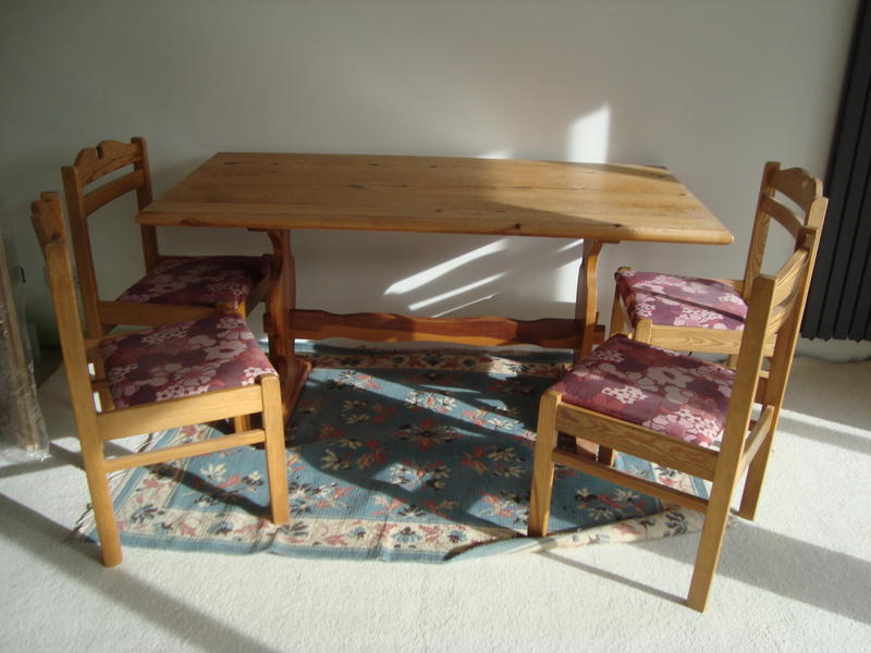 Pine Table 4 Chairs Will Split In Truro Friday Ad