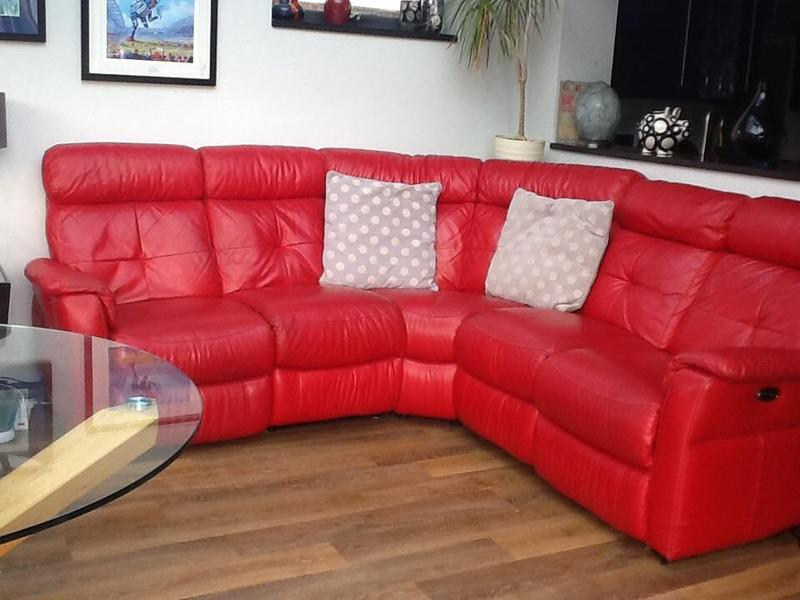 Leather Sofas In Eastbourne Dfs Leather Corner Sofa In Eastbourne | Friday-ad