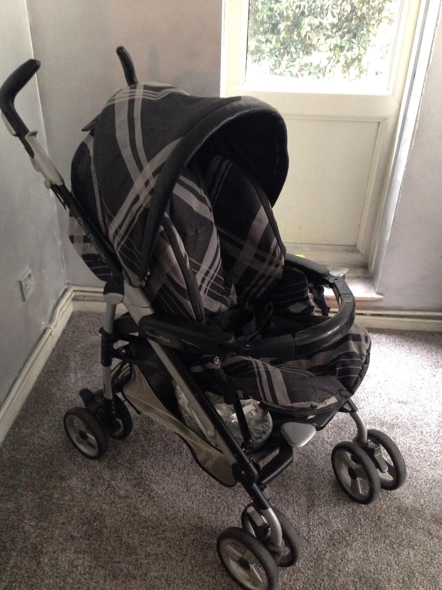 Baby Buggy Mercedes Mamas And Papas Buggy And Car Seat In Watford Friday Ad