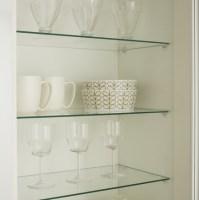 Internal Glass Cabinet Shelves | Kitchen Shelving ...