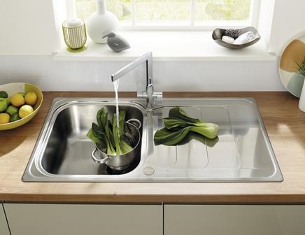 Lamona Kielder Single Bowl Sink Stainless Steel Kitchen