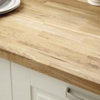 Rustic Oak Block solid wood worktop | Kitchen worktops ...