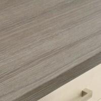 Bullnose Matt Laminate Grey Oak Effect Worktop 616mm ...