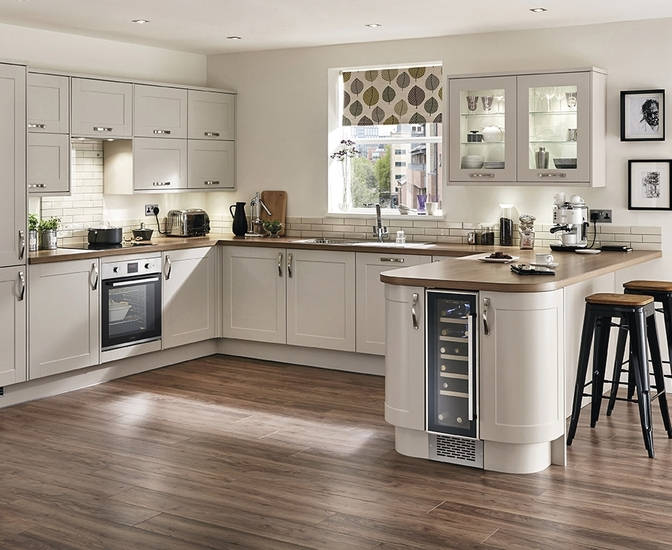 Burford Cashmere Kitchen Shaker Kitchens Howdens Joinery