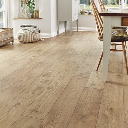 Professional V Groove Tawny Chestnut Laminate Flooring