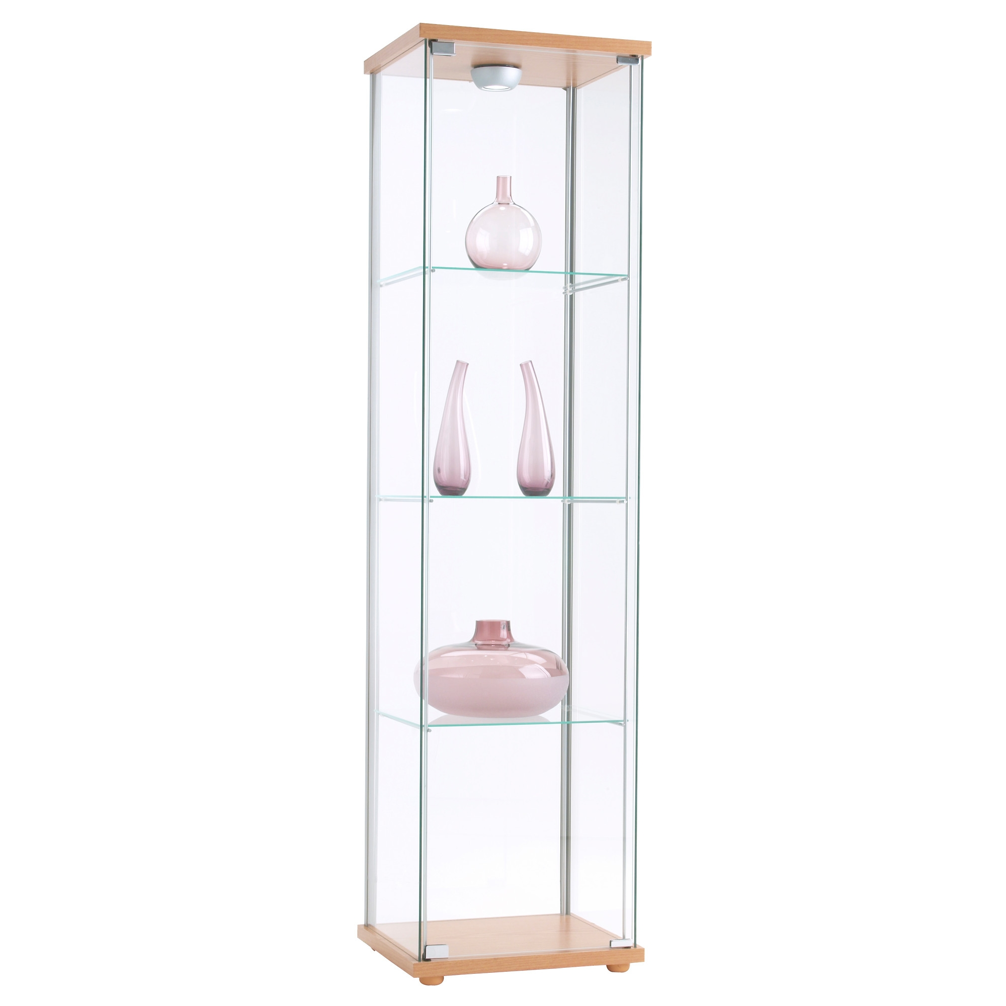 Corner Lamp Ikea Ikea Detolf Glass Cabinet Review Nazarm