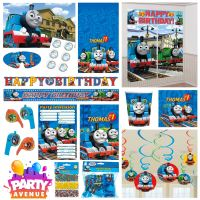 Thomas And Friends Party Tableware Decorations Balloons ...