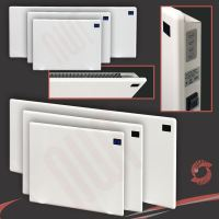 """NOVA LIVE R"" Slimline Efficient Wall Electric Panel ..."