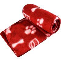 Pet Blanket Dogs & Puppy Cat Soft Warm Fleece Bed Travel ...
