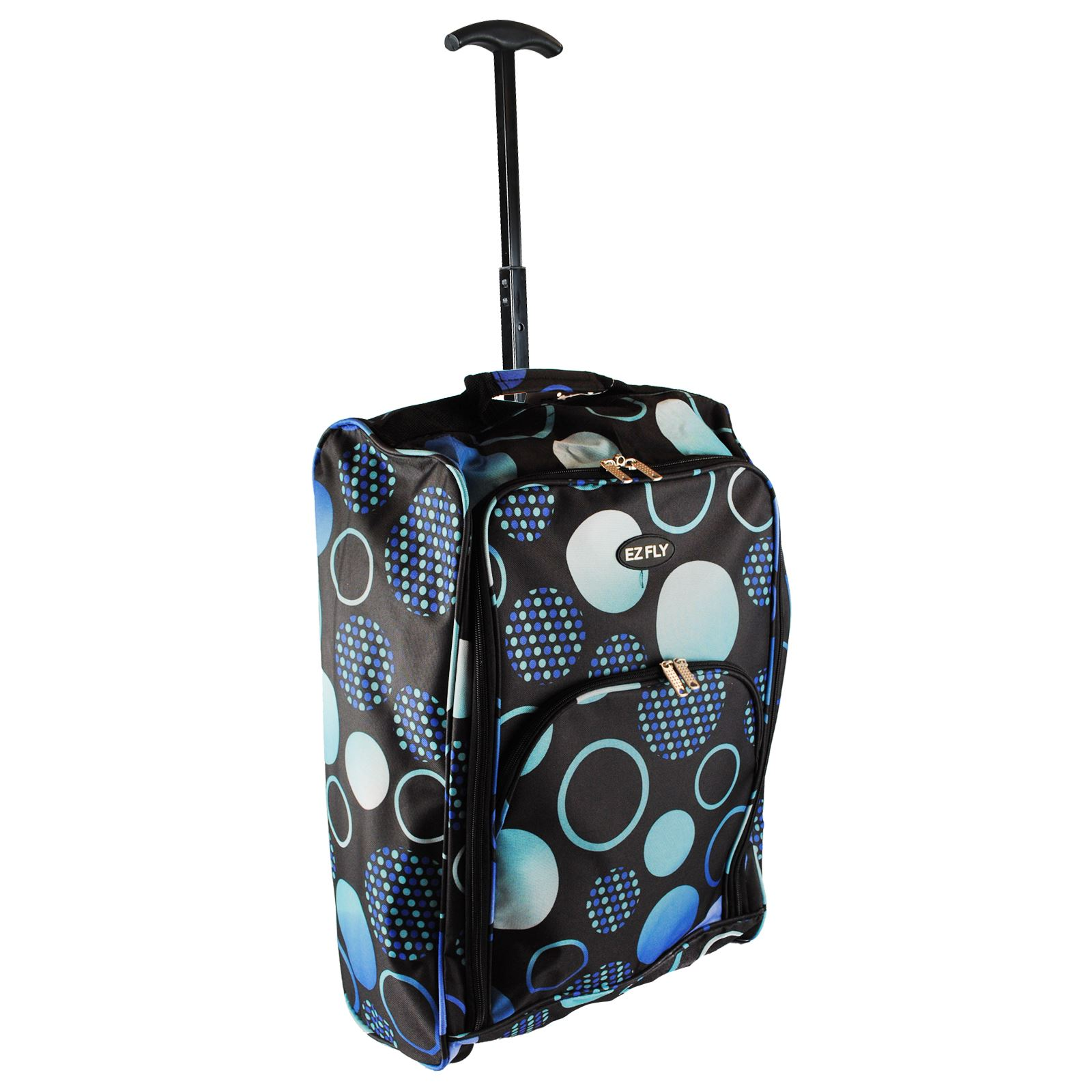 Petite Valise Cabine Cabin Hand Luggage Trolley Bag Small Suitcase Holdall