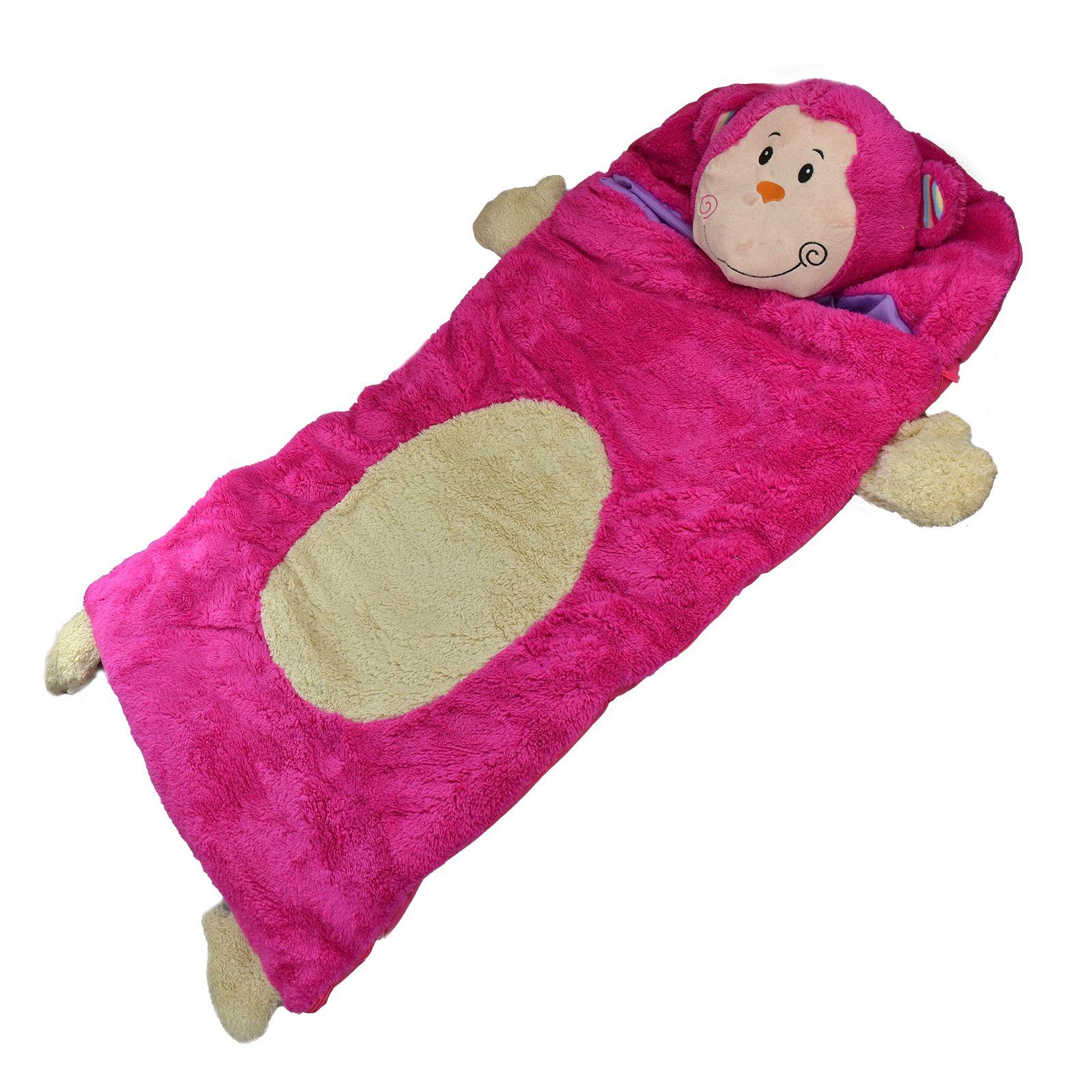 Amazing Cuddly Soft Warm Kids Animal Sleeping Bag Camping Boys Girl Sleeping Bags Personalized baby Girls Sleeping Bags