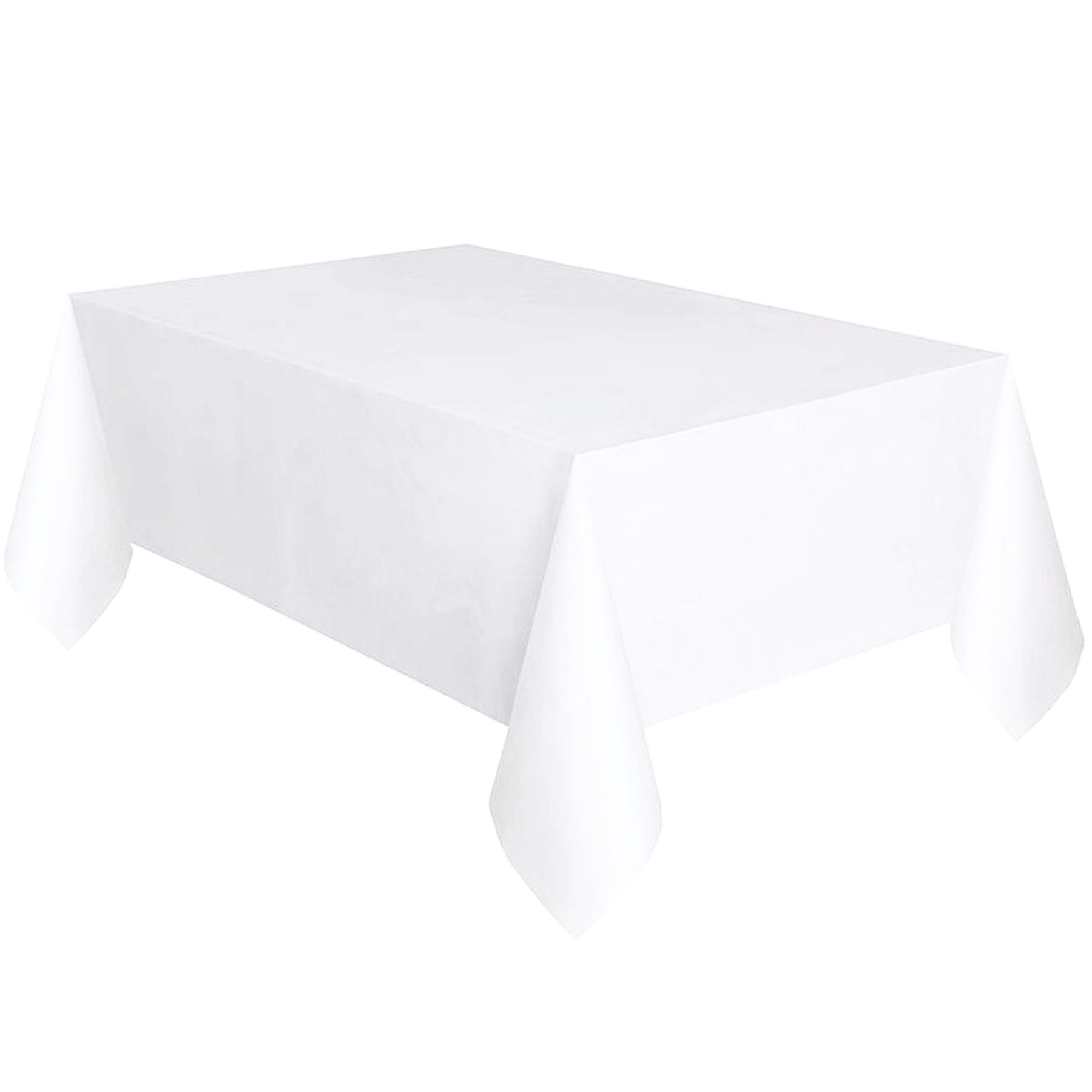 Square Tablecloth Plastic Table Cover Cloth Wipe Clean Party Square