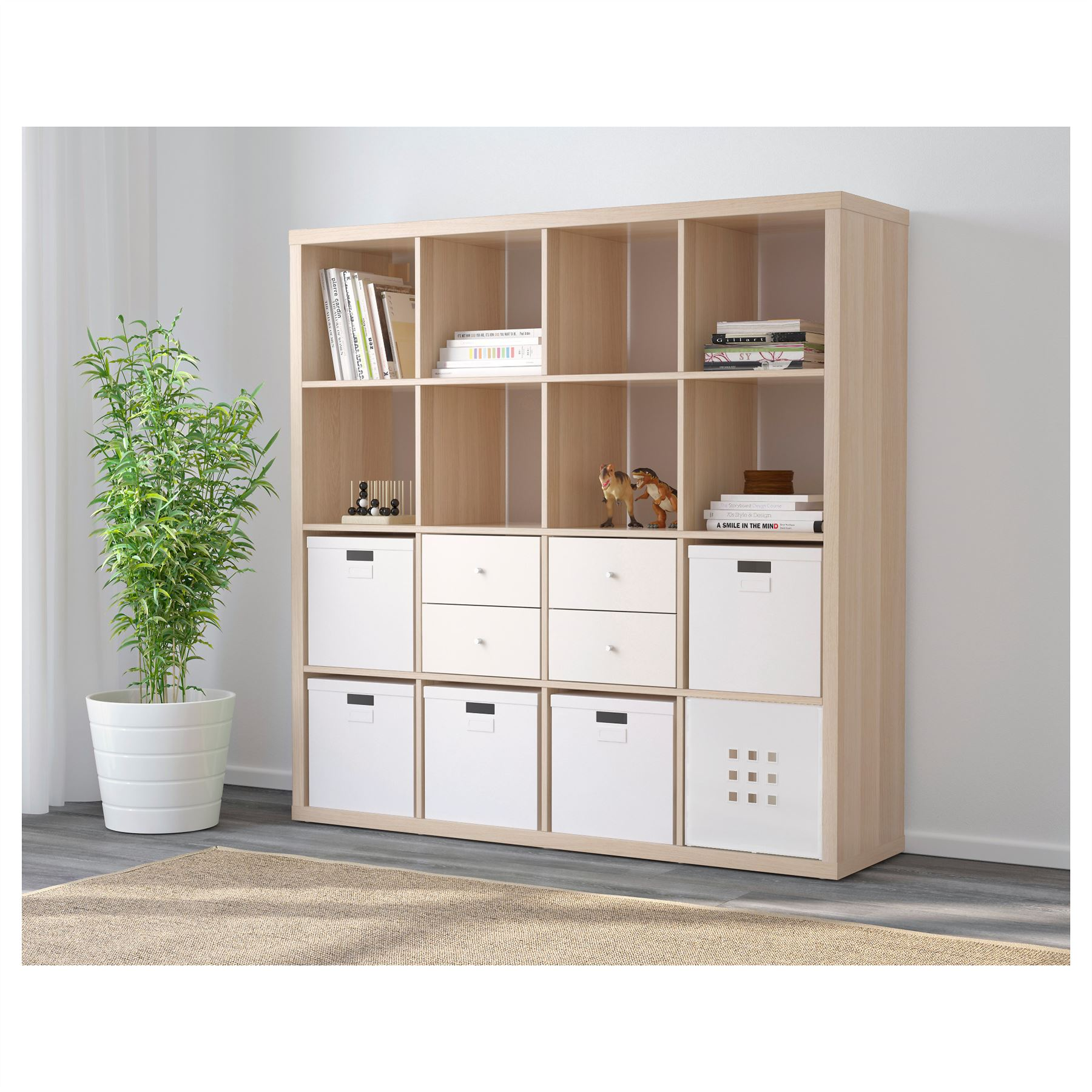 Aufbewahrungsbox Ikea Expedit Ikea Kallax 16 Cube Storage Bookcase Square Shelving Unit