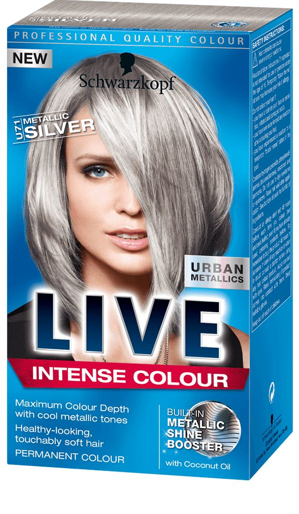 Schwarzkopf Live Intense Colour Urban Metallics Hair