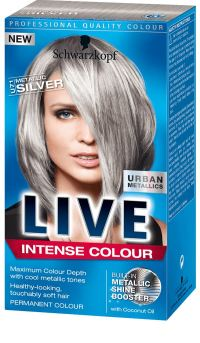 Schwarzkopf Live Intense Colour Urban Metallics Hair ...