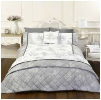 French Country Toile Camargue Duvet Cover Bedding Range ...