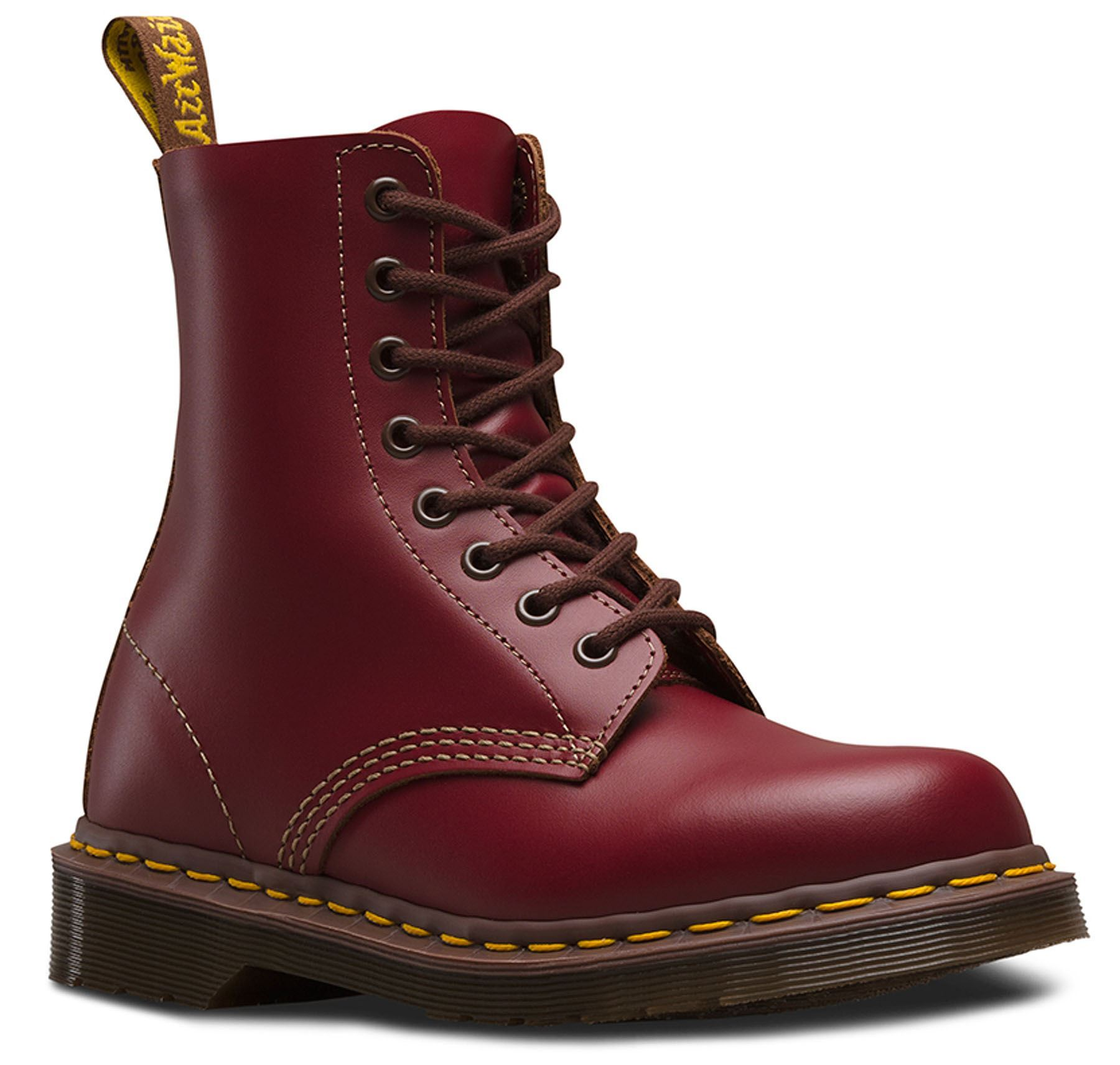 Vintage 8 Details Zu Dr Martens 1460 Made In England Vintage Collection 8 Eye Leather Ankle Boots