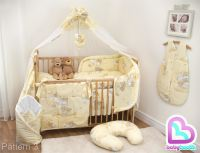 10 Piece Baby Cot Bedding Set 140/120 Duvet Cover Cot Bed ...