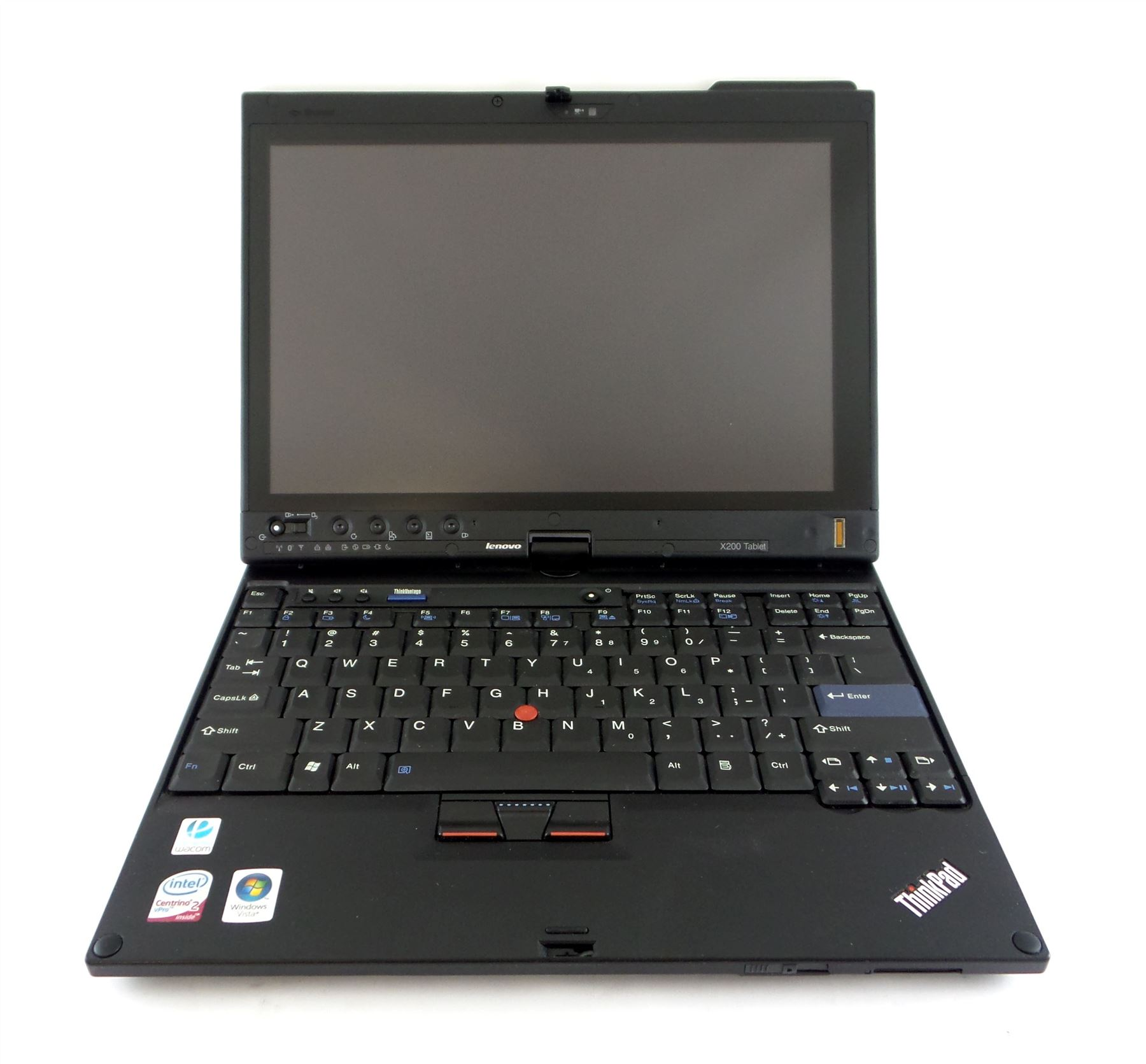 Laptop Tablett Lenovo Thinkpad X200 Tablet Laptop 12 Quot Intel 1 86ghz 160gb