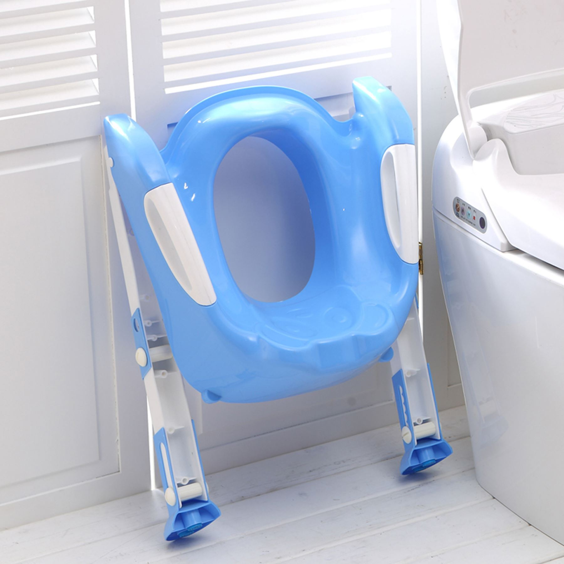 Baby Toddler Toilet Training Potty Seat 2 Step Ladder Toilet Trainer For Child Ebay - Potty Toilet