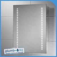 Modern Led Illuminated Bathroom Mirror Bluetooth Demister ...