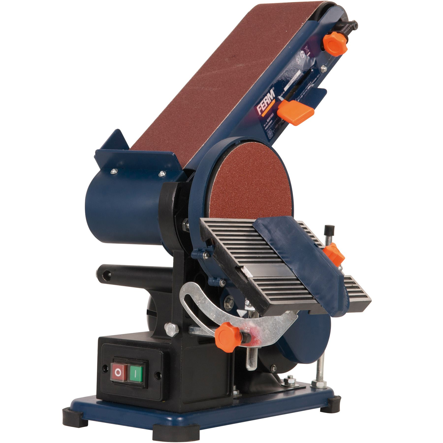 Ferm Bgm1003 Ferm 375w Electric Adjustable Bench Sander Mitre Belt