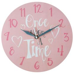 Captivating Senior Citizens Fast Delivery Round Mdf Kids Wall Clock Face Pink Hand Grey Ing Look Easy Easy To Read Wall Clock Easy To Read Wall Clocks
