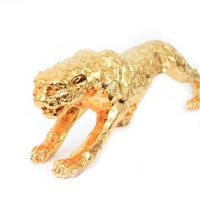 Leopard Resin Abstract Figurine Sculpture Home Decor ...