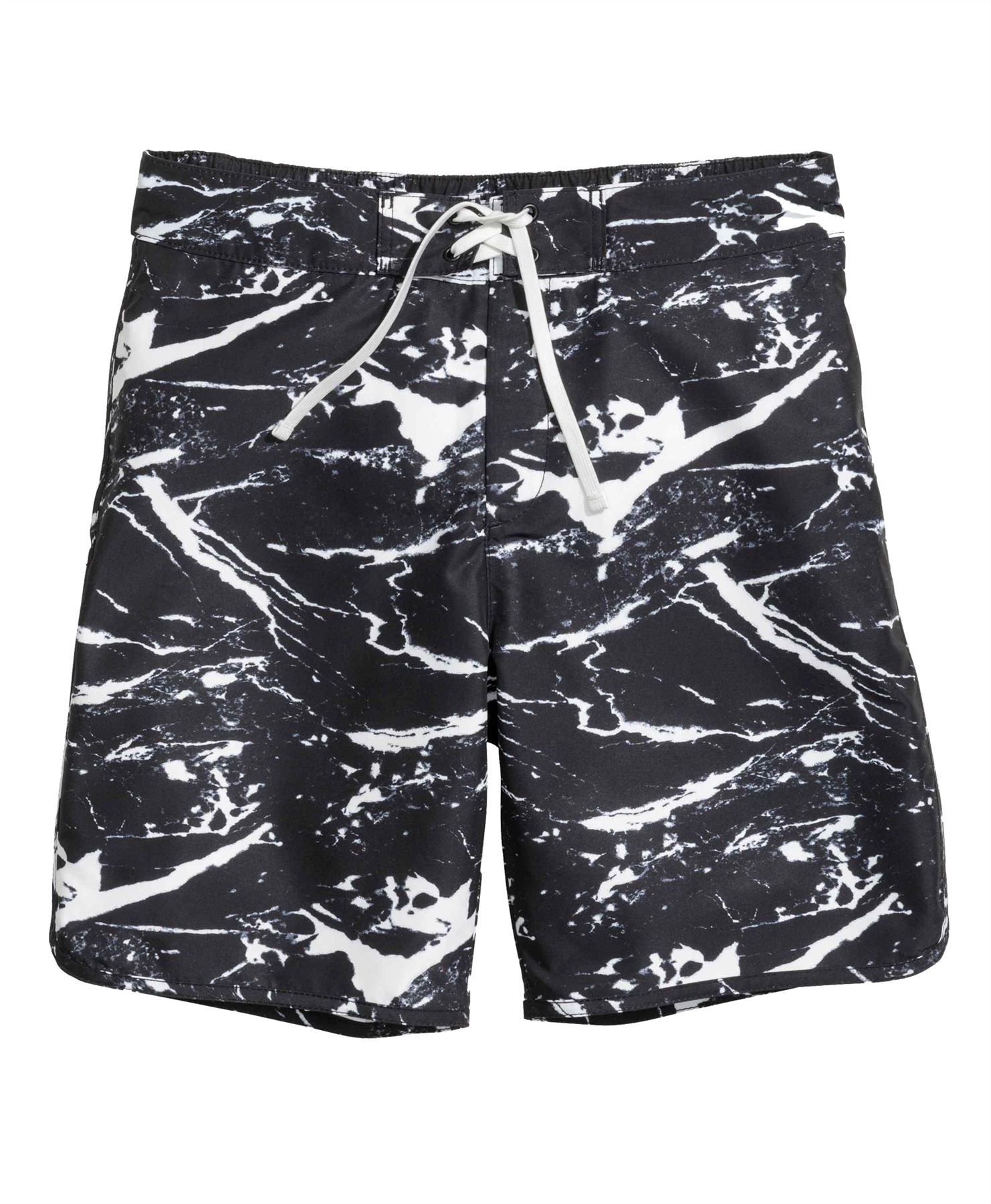 H&m Online Questionnaire Mens Ex H Andm Printed Plain Swimming Shorts Summer Surf