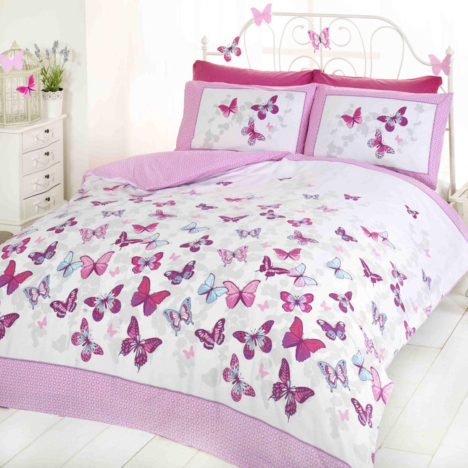 Girls Doona Covers | Princess Girls Quilt Cover Set Girls Bedding ...
