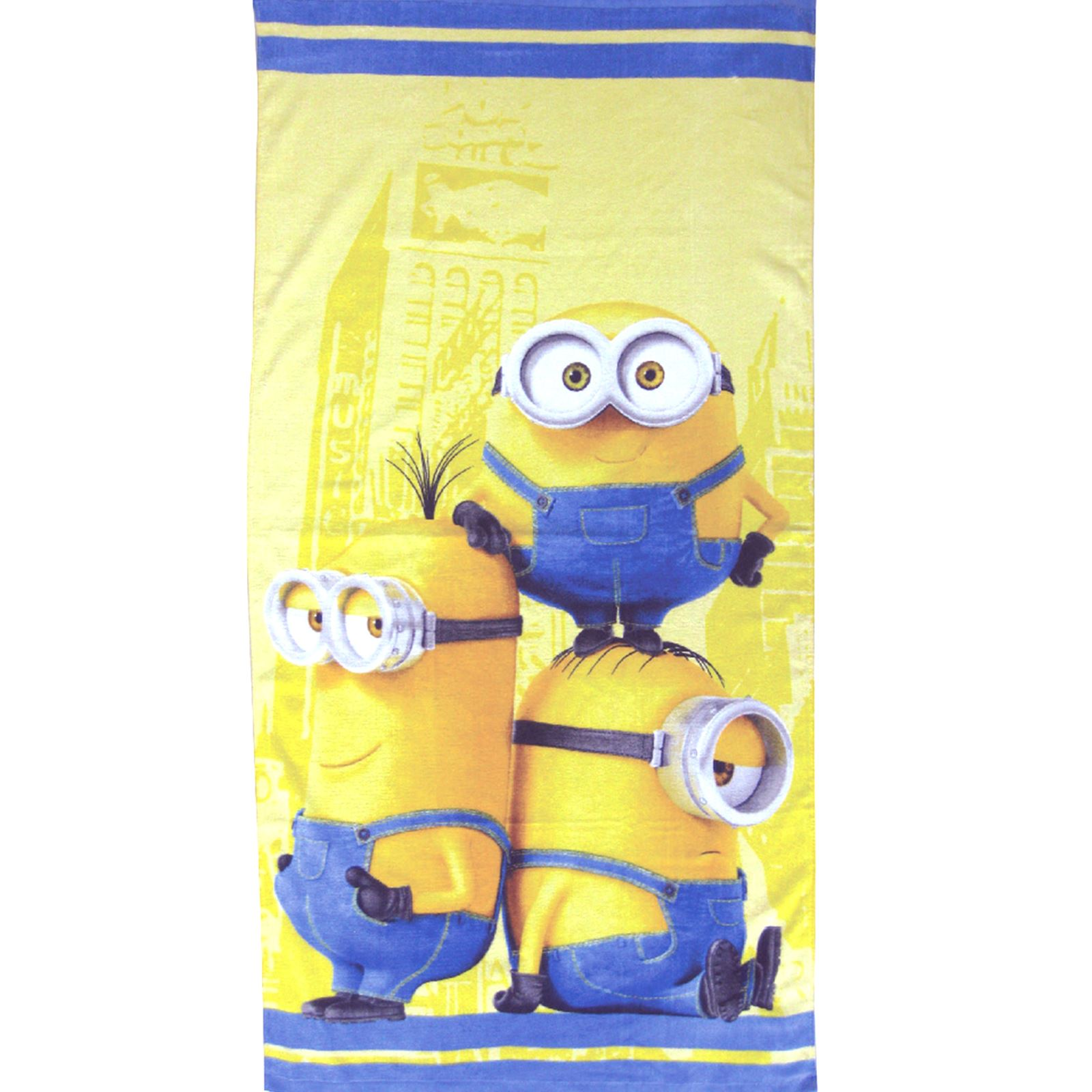 Badezimmer Garnitur Minions Despicable Me Minions Beach Bath Towels Kids Holiday