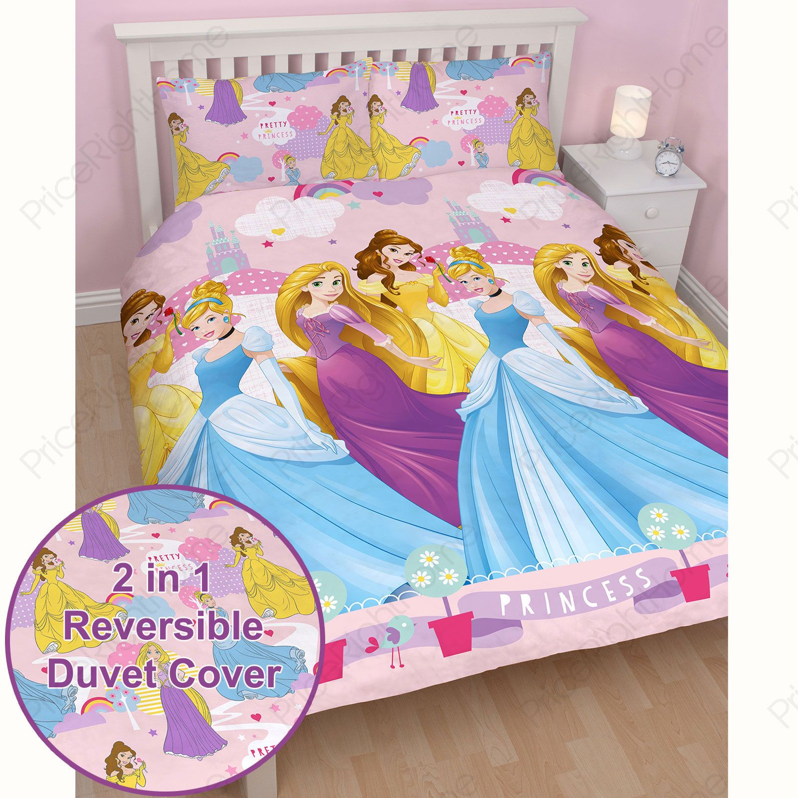 Pretty Bed Covers Kids Disney And Character Double Duvet Cover Sets