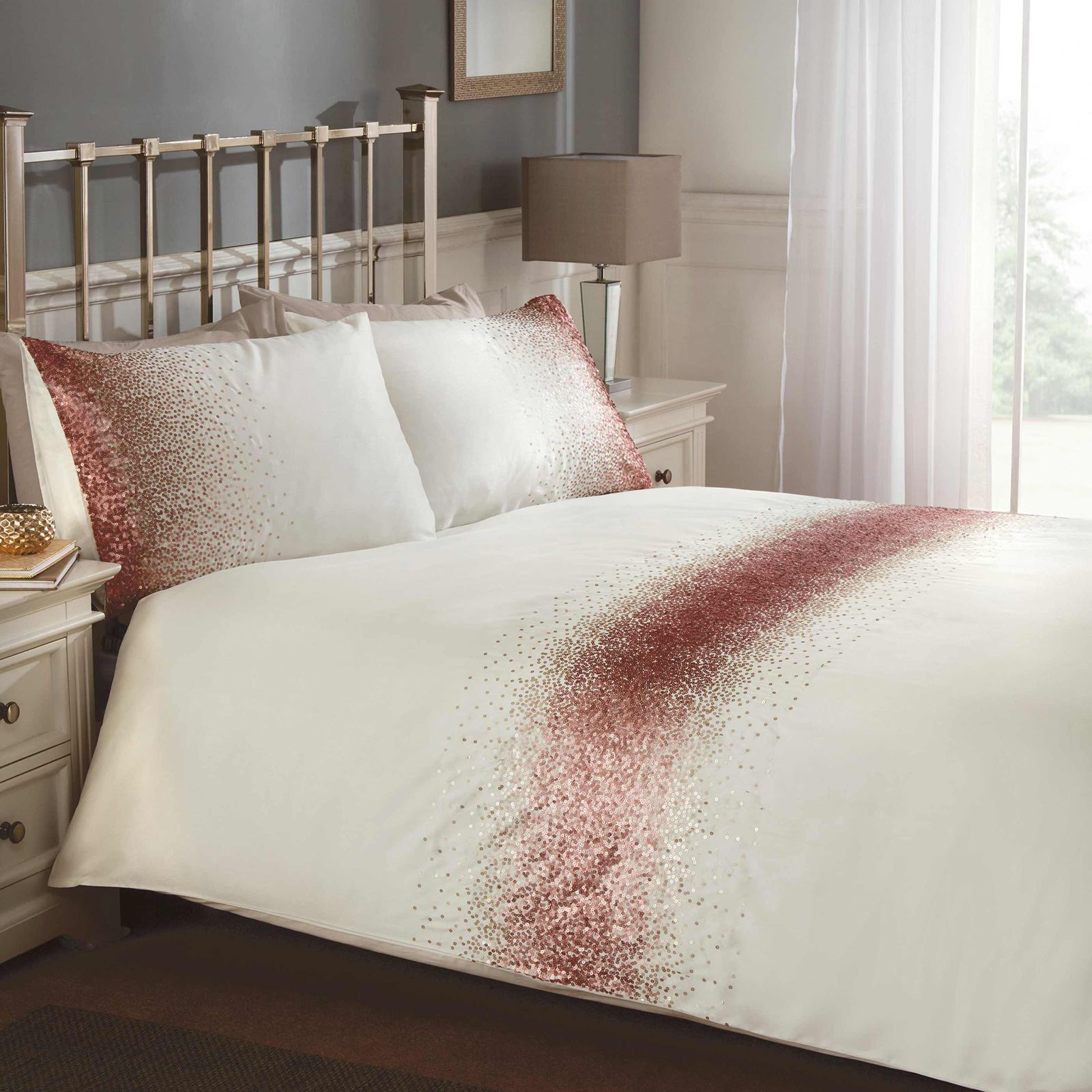 Velvet Duvet Cover Luxury Embellished Duvet Cover Sets Diamante Velvet