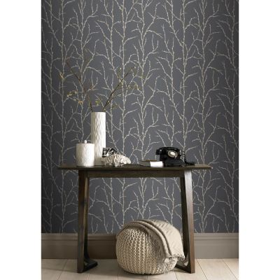 RASCH PUSSY WILLOW WALLPAPER BRAND NEW AND SEALED TWO COLOURS AVAILABLE | eBay