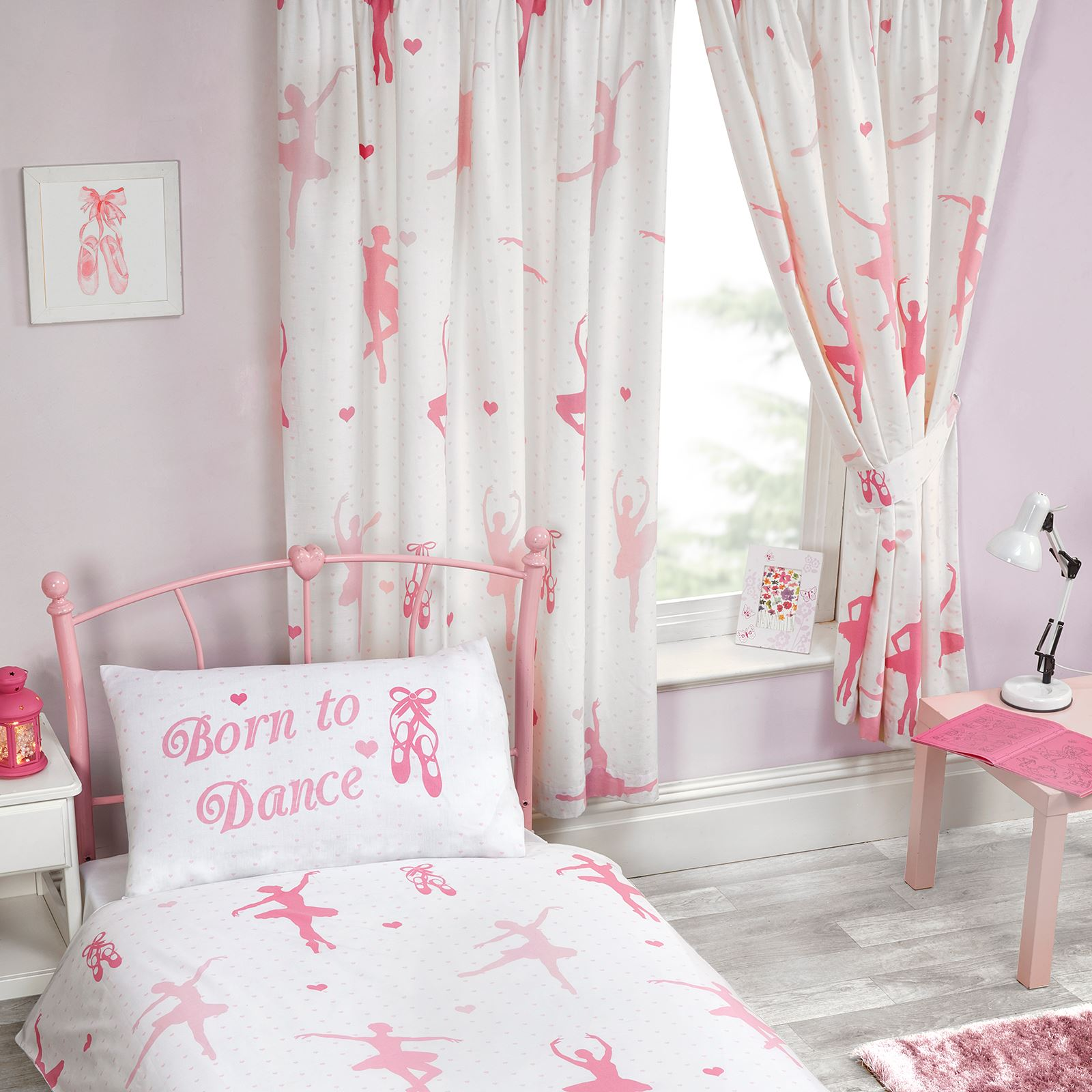 Girls Curtains Girls Curtains 54 Quot And 72 Quot Drop Unicorn Ballerina Princess