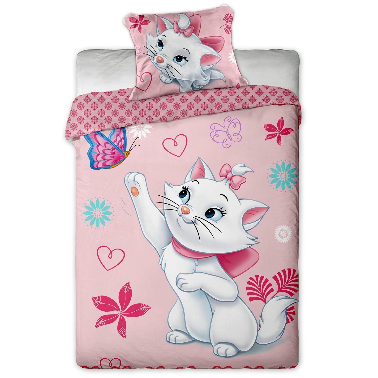 Trolls Bettwäsche Girls Single Panel Duvet Cover Set Kids Trolls Ladybug