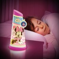 MINNIE MOUSE GO GLOW NIGHT LIGHT TILT TORCH NEW LAMP
