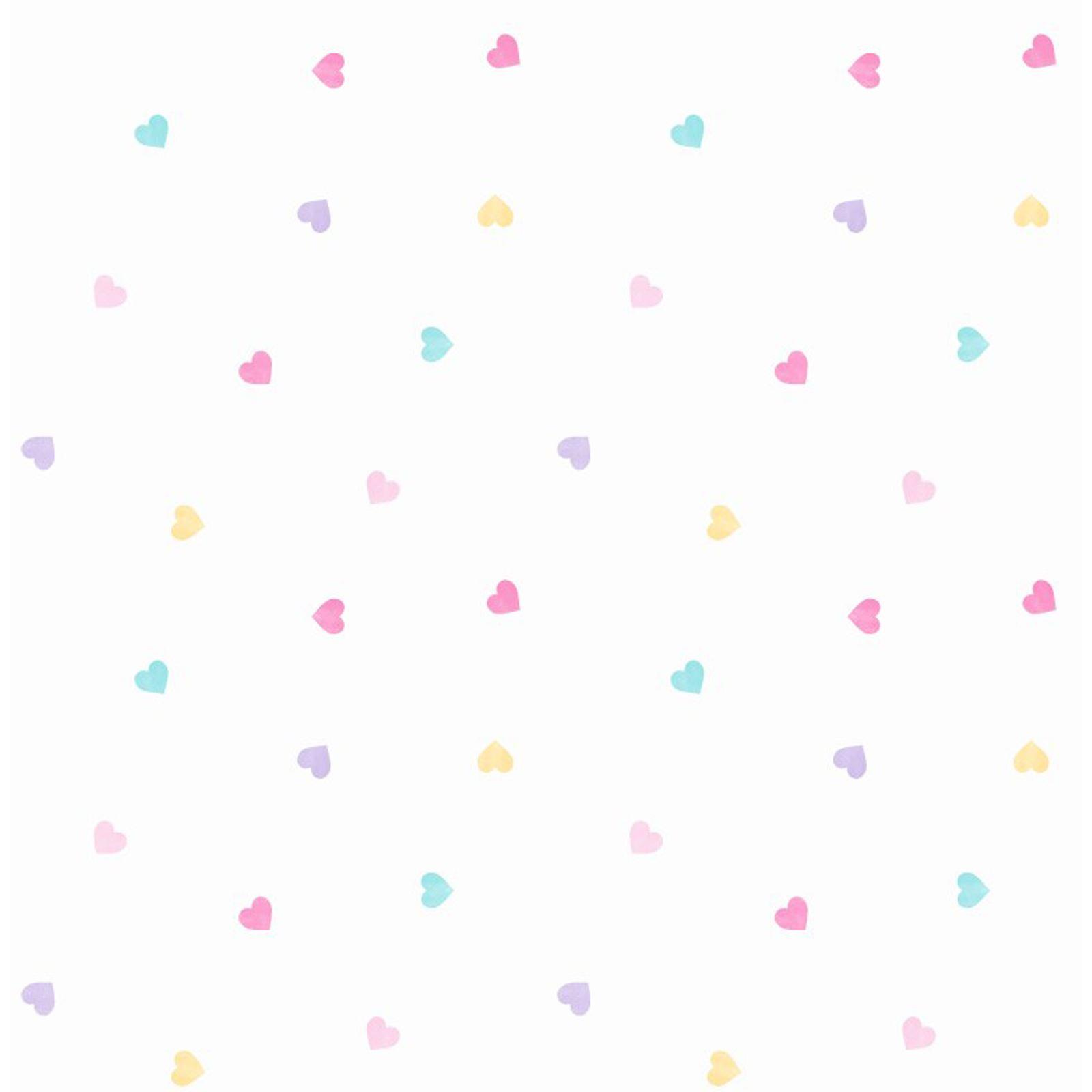 Baby Girl Nursery Wallpaper Uk Heart Themed Wallpaper Girls Bedroom Pink Various Designs