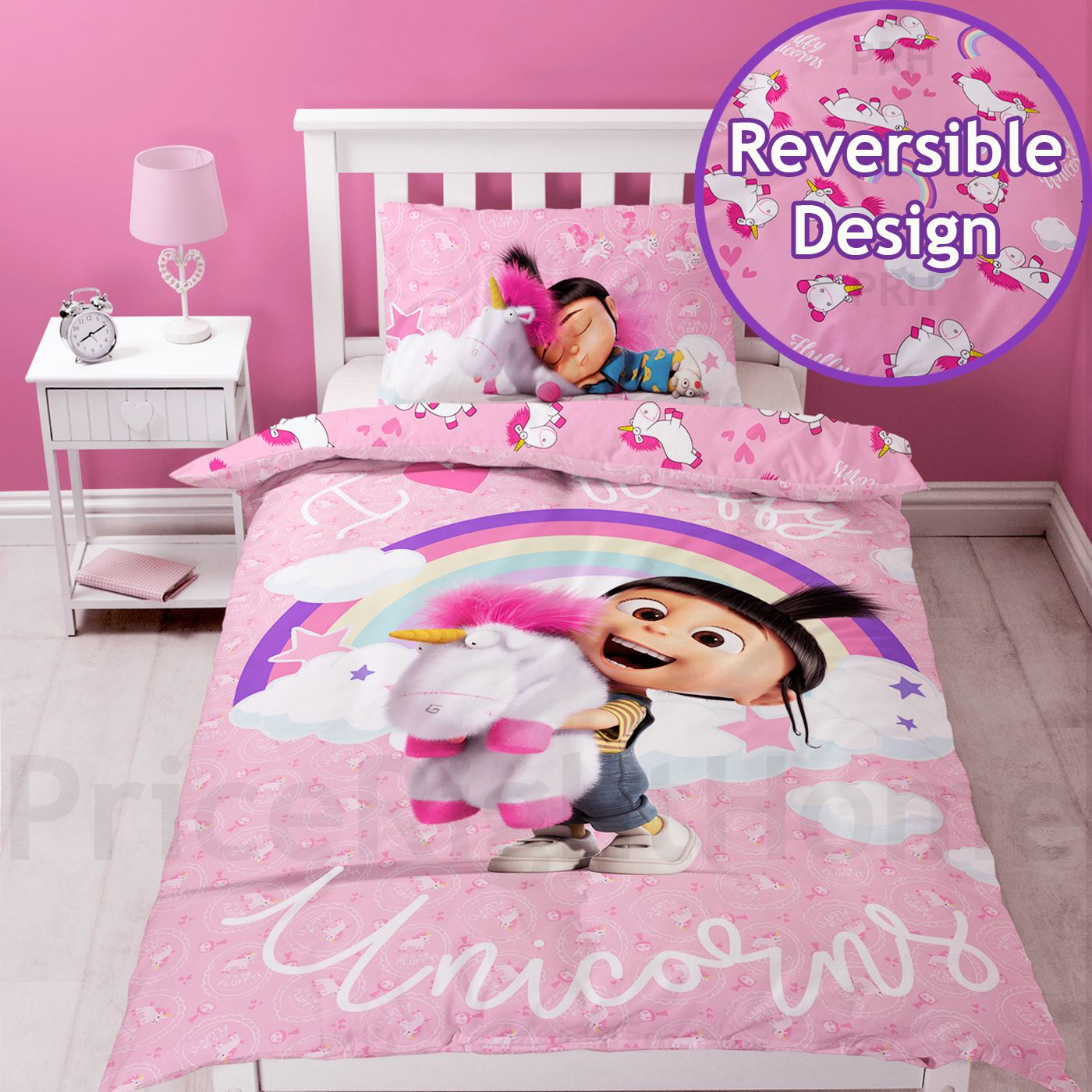 Angry Birds Bettwaesche Single Duvet Cover Set Girls Character - Disney Princess Peppa Pig & More | Ebay