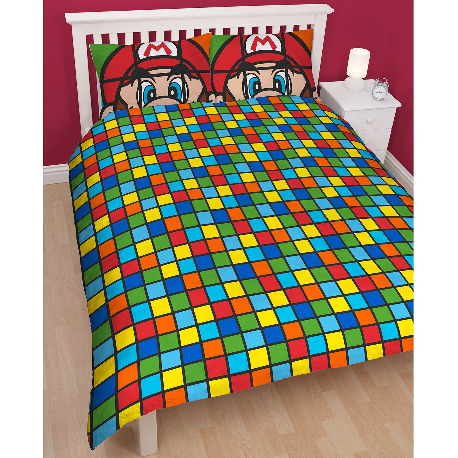 Bettwäsche Super Mario Kinder Teenager Charakter Doppelbett BettwÄsche Sets