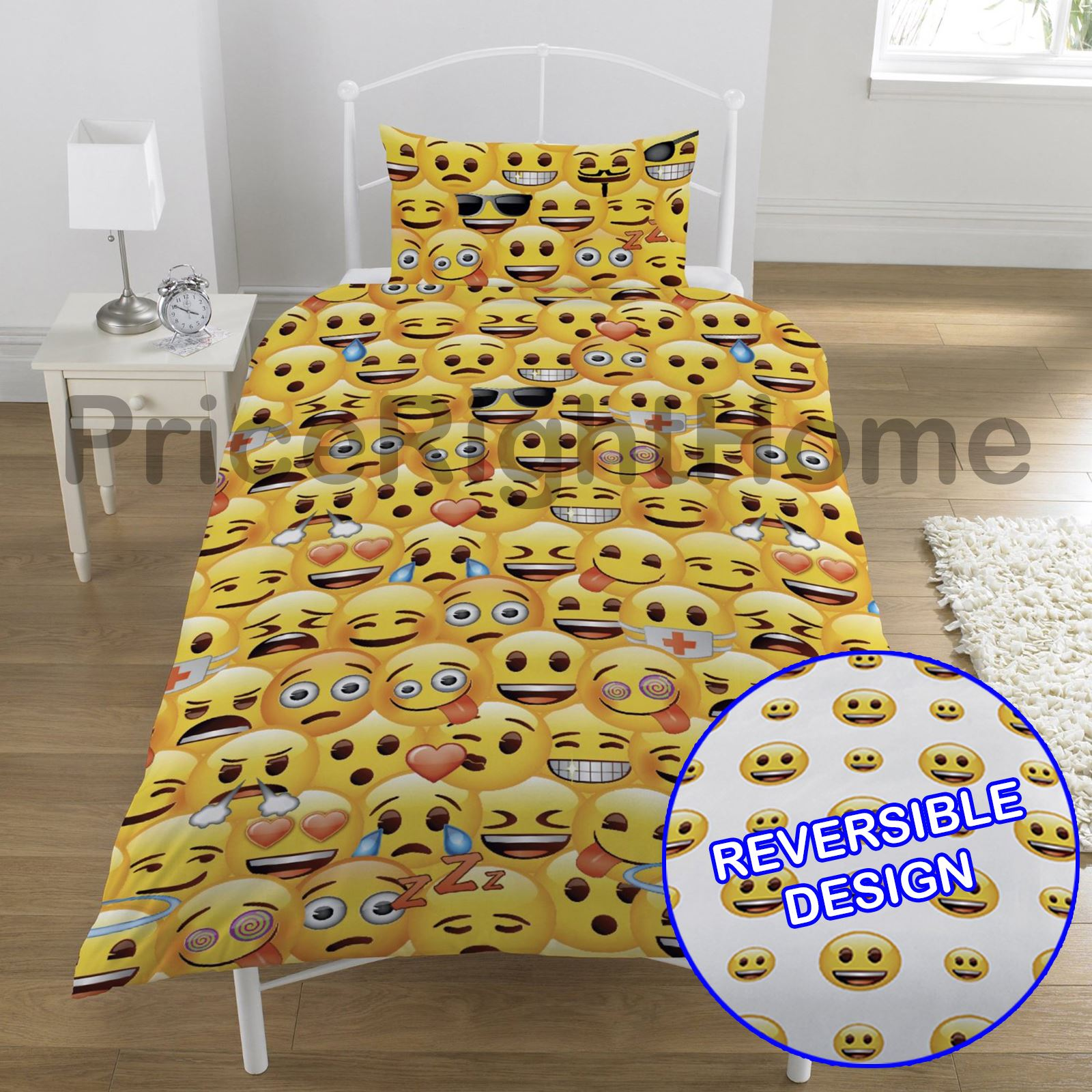 Grappige Dekbedovertrekken Emoji Duvet Cover Sets Single And Double Funny Smiley