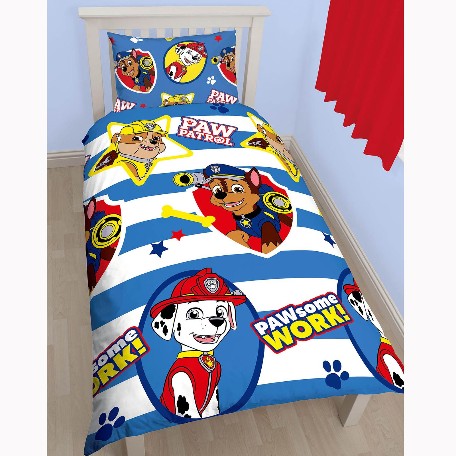 Knight Rider Bettwäsche Kids Disney Character Single Duvet Cover Sets Paw Patrol