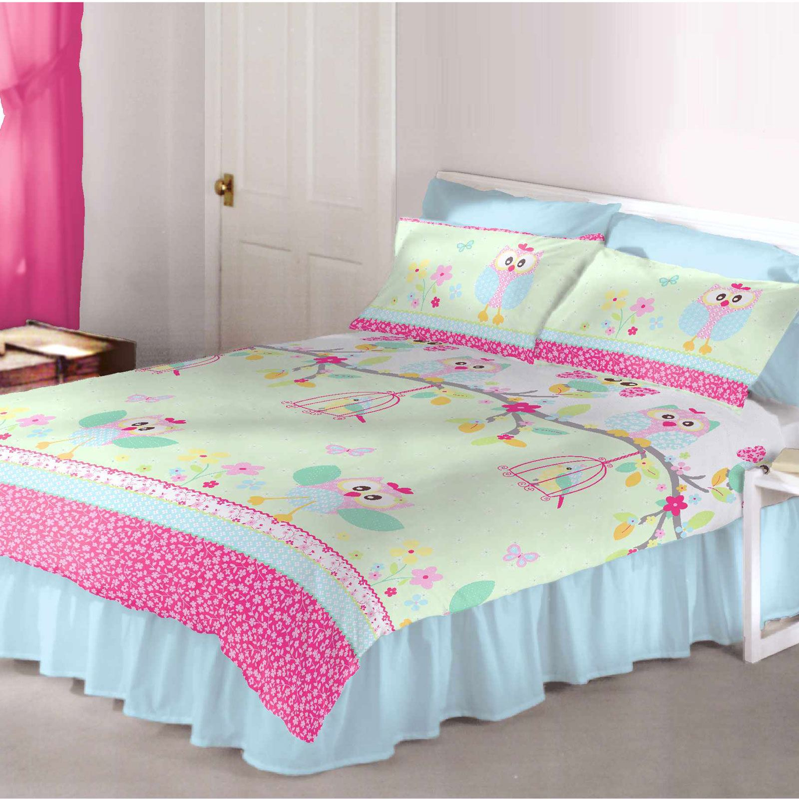 Girls Bedding Girls Bedding Single And Double Polycotton Duvet Covers
