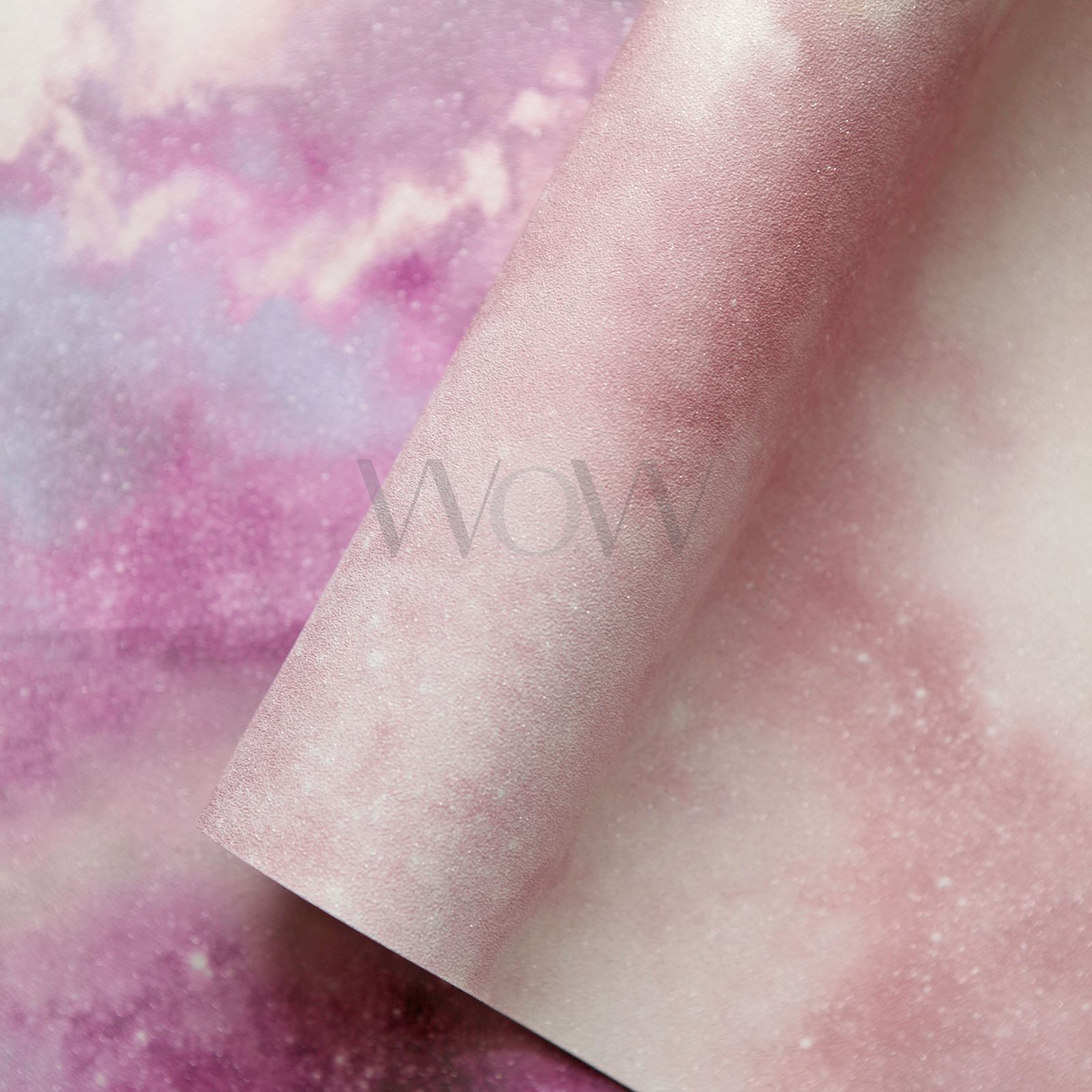 Papel Decorativo Morado Detalles De Arthouse Diamante Galaxy Nube Papel Pintado Espacio Efecto Brillo Morado Rosa