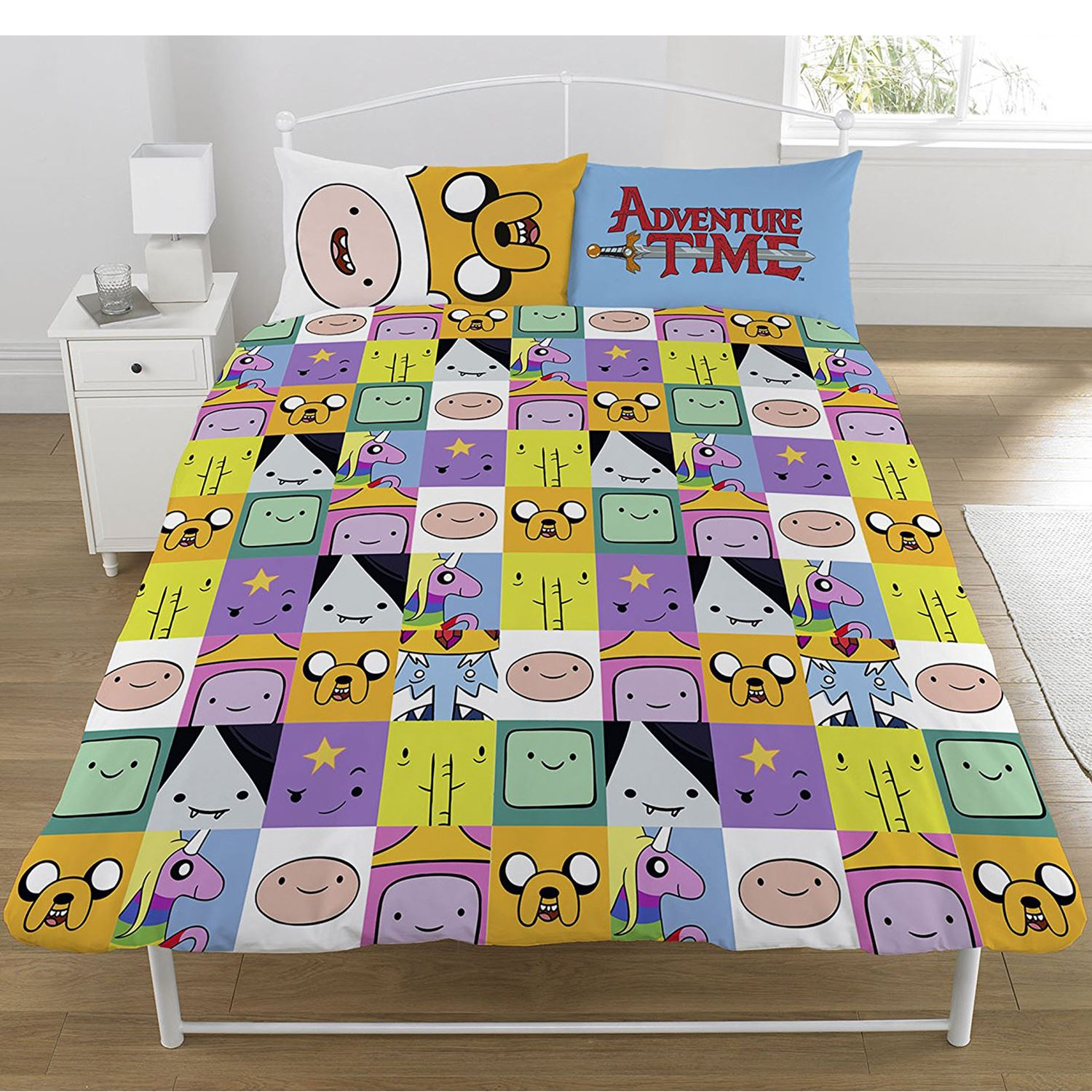 Totoro Bettwäsche Details About Adventure Time Duvet Cover Set Reversible Kids Boys Bedding Single Double