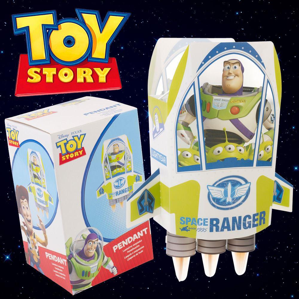 Disneys Toy Story Buzz Lightyear Rocket Pendant Light Lamp