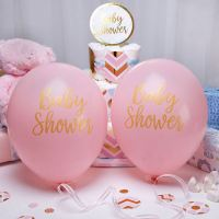 Pattern Pink Baby Shower Girls Party Decorations ...