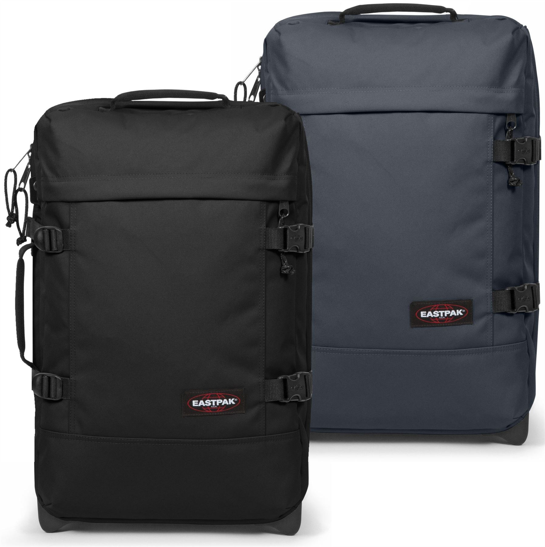 Eastpak Tranverz S Details About Eastpak Tranverz S Cabin Luggage Case Black Blue
