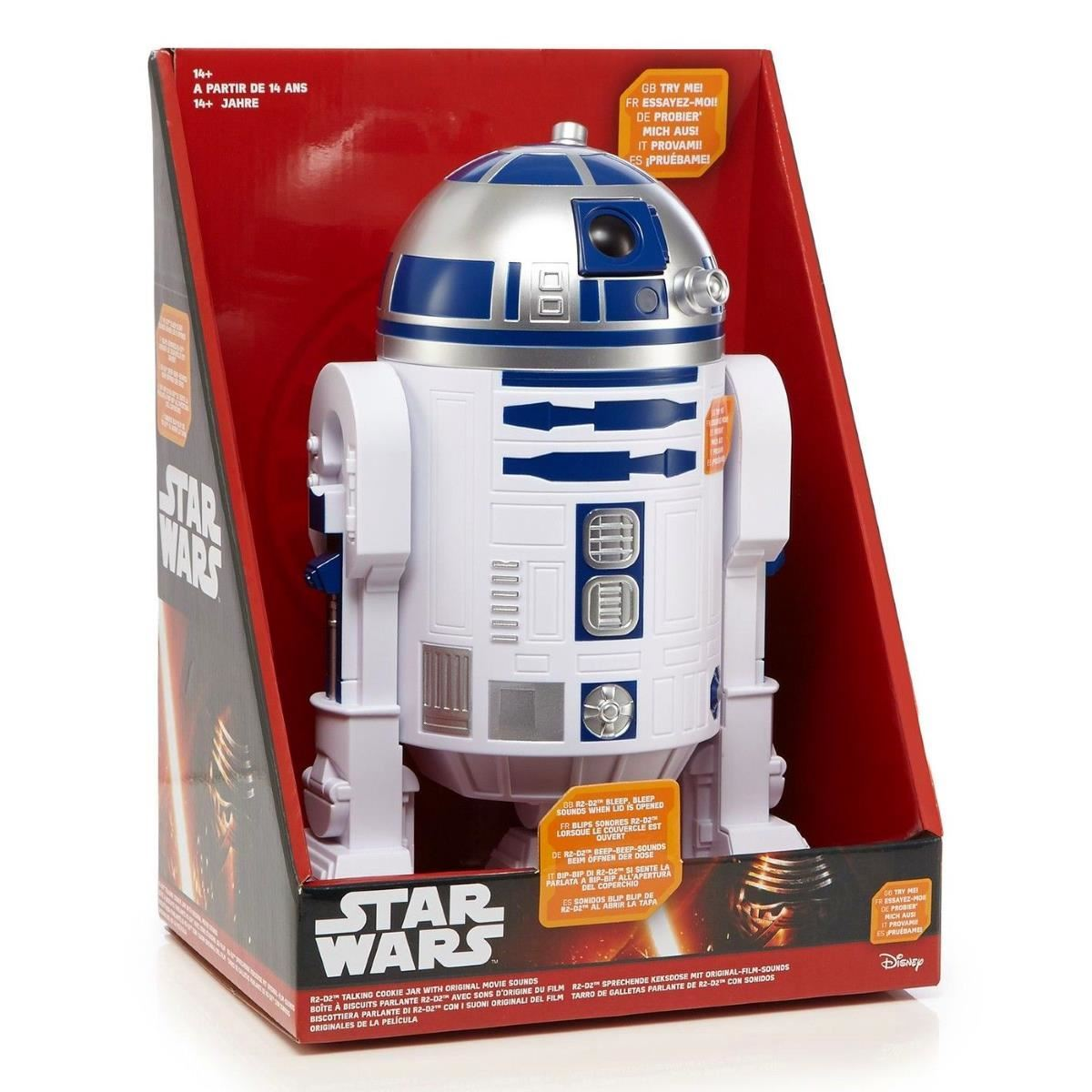 Star Wars Cookie Jars Star Wars R2 D2 Talking Cookie Jar With Lights And Sounds